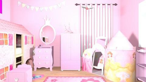 Princess Bedroom - Feminine - Kids room - by Myoriginality