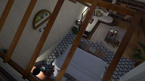 attic bed - Bedroom  - by nat mi