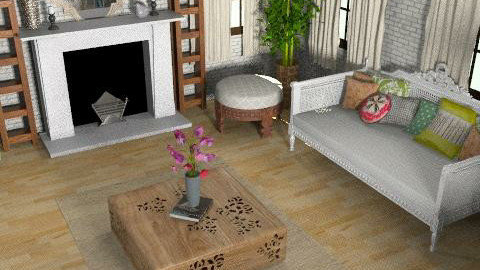 Living room - Eclectic - Living room  - by allysonrose