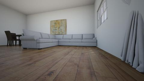 my house - Living room  - by MissIndira