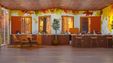 Autumn Kitchen - Kitchen  - by Boo Boo Boo