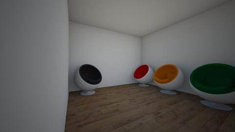 egg chair rooom - by cb28026