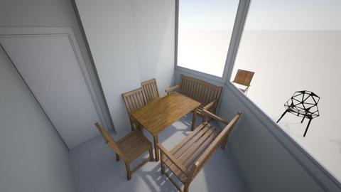balkony - Garden - by razgat55