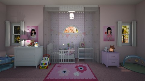 Pink Nursery - Classic - Kids room  - by  krc60