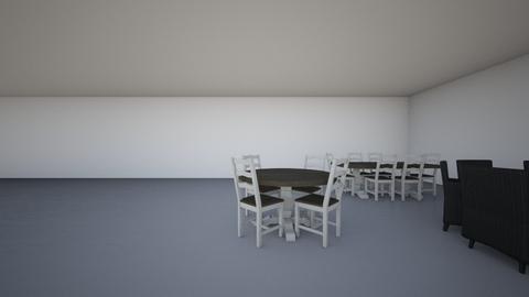 Restaurantruimte versie 1 - by anoukdoornekamp
