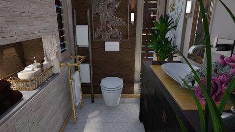 The bathroom toilet - Bathroom  - by Sue Bonstra