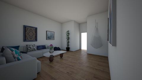greek boho living  - Living room  - by cats land 406