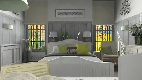 Gabrielle - Bedroom  - by KittiFarkas