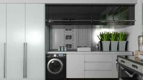 Luxury Laundry Room - Modern - Kitchen  - by Carliam