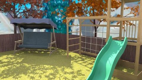 flat 4 - Glamour - Garden - by sally89