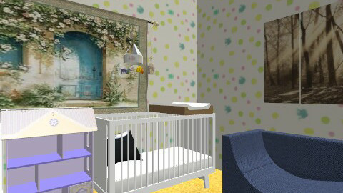 baby office - Eclectic - Kids room  - by likeucoulddobetter