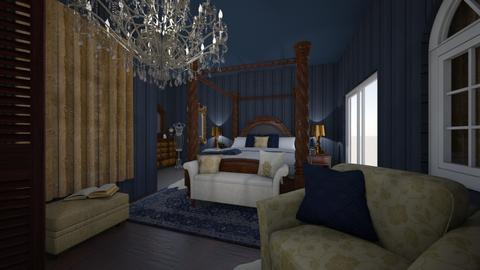 fit for royalty bedroom - Classic - Bedroom  - by minty_builds