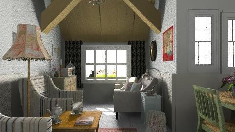 Vtg - Vintage - Living room  - by milyca8