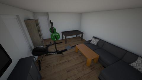 Stube mit tisch - Living room  - by thiesp