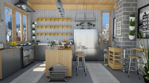 Design 53 Small Kitchen in the City - Kitchen  - by Daisy320