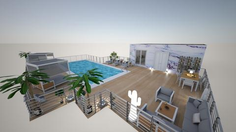 family home 111 - Modern - Garden  - by Stavroula Chatzina