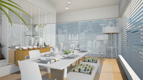 Dining With Valentina - Modern - Dining room  - by janip