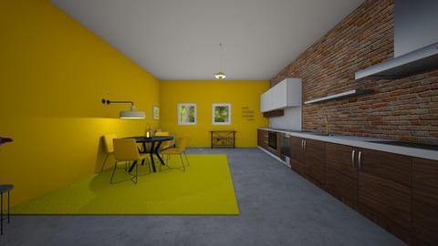 Kitchen 1 Final - Kitchen - by singh78407