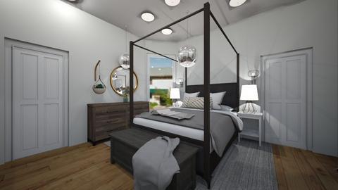 farmhouse bedroom - Bedroom  - by tessmcquillan