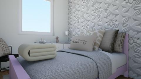 new temporary room  - Bedroom  - by marindekica22