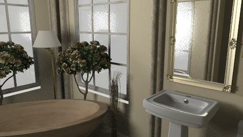 gold luxury - Glamour - Bathroom  - by smw0196