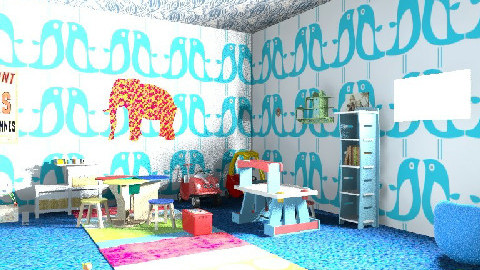 ROCIO BALTAZAR - Retro - Kids room  - by sweetro77