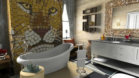 my ideal bathroom - Modern - Bathroom  - by sally89