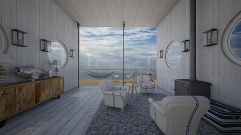 modern beachhouse - Rustic - by kitty