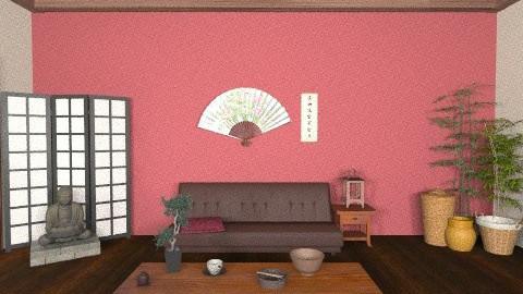 Japanese Living - Minimal - Living room - by kishwick