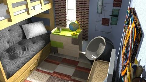 Saturnino's Picks 1a - Retro - Bedroom  - by verajennifer