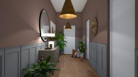 Welcoming Hallway - by UnicornSprinkle