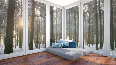 Mountain View - Minimal - Bedroom  - by marac137