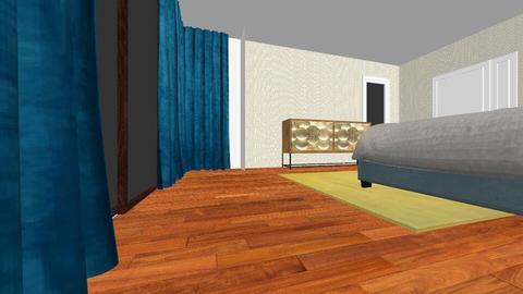 master bedroom - Glamour - Bedroom  - by adina_fele