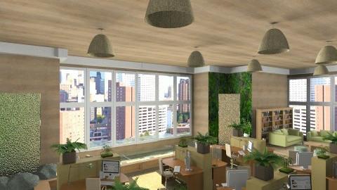 green office - Office  - by KittiFarkas
