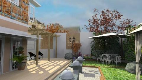 outdoor balcony - Classic - Garden  - by inniunni