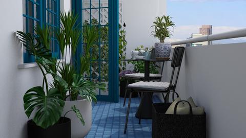 Balcony II - Garden  - by Tuija
