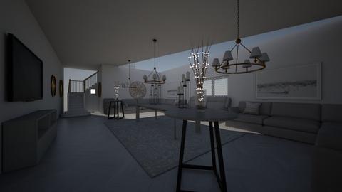 Minimalist Living Rom - Modern - Living room  - by Mathcat