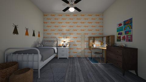 fox - Kids room - by Rachel_Starlanda