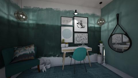 Cool Greens - Office  - by MackenziePaige