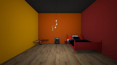 bakugous room - Bedroom  - by crying_room