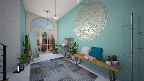 Cactus Hallway  - Classic - by mahooija
