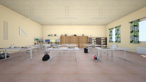 Classroom - Classic - Office  - by linnda123222