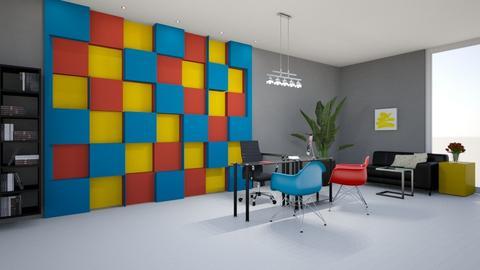 Bauhaus Studyroom - by elciak