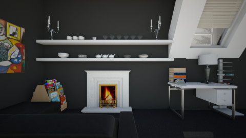 dss - Classic - Living room  - by annabu