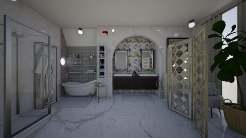modern bagno suite - Bathroom - by memmi