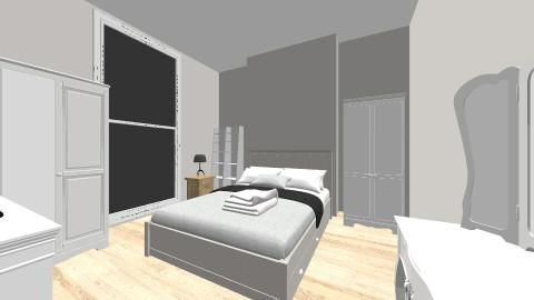 Bedroom - Minimal - Bedroom  - by timdigbybell