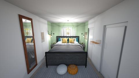 Iilana badroom - Country - Bedroom  - by Revitalko