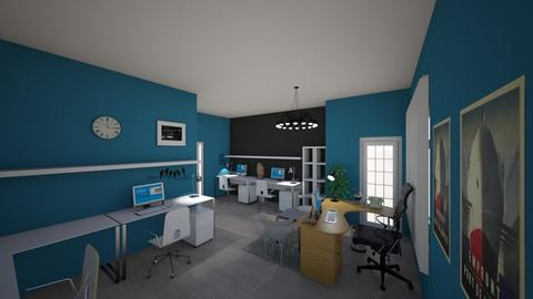 office - Modern - Office  - by Visualflame