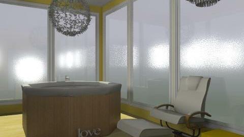 bath - Glamour - Bathroom  - by guayaba soda1