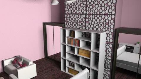Groovy Girls Room - Glamour - Bedroom  - by Rubeeees